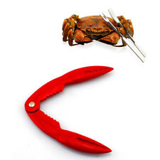 3 Pcs Seafood Lobster Crab Legs Nut Cracker Shellfish Opener Forks Tool Set NEW