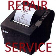 EPSON PRINTER REPAIR  TM-T88IV POS Thermal Printer REPAIR SERVICE