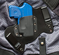 Ruger LCP Crimson Trace Black Leather Gun Holster