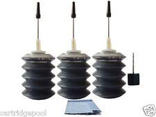 Black Refill ink kit for Lexmark 16 IJ650 IJ652 Z13 Z23 Z25 X1270 X2250  3x30ml