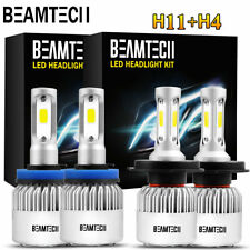 H11+H4 LED Headlight Bulbs for Toyota Tacoma 2012-2015 High Low Beams Fog Lights
