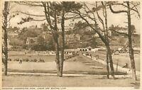 Paignton. Goodrington Park Lawns & Boating Lake (Photochrom, no.78886) 1940s