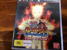 Naruto Shippuden Ultimate Ninja Storm Generations (Sony Playstation 3 PS3) Anime