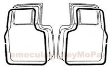 Door Weatherstrip Set for 1954-1960 Dodge Trucks