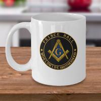 Freemason coffee mug - Prince Hall Worldwide Brotherhood - Masonic PHA gift