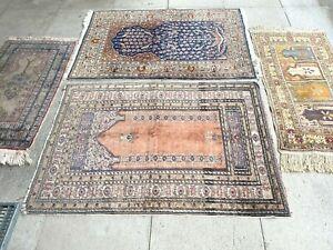 antico-swiss 4 Beautiful Antique KAYZERI Turkish rugs  2`9x4`3 and 2`9x4`2and ft