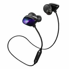 Wireless Bluetooth 4.1 Sweatproof Rechargeable Headphones Built-in Mic APT-X