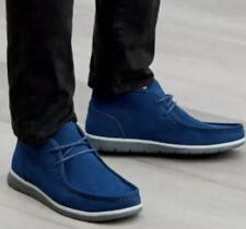Ugg Australia Mens Hendrickson Navy Blue Soft Leather Chukka Shoes Us 10 New!