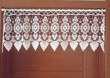 Roman Curtains Handmade Crochet Cotton Country Window Valances
