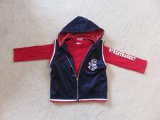 Topolino, Langarmshirt mit Weste, rot/blau, Gr. 104, sehr gut-neuwertig!!