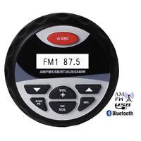 "4"" Bluetooth Marine FM/AM Radio Stereo Boat Yacht ATV UTV MP3 Player/USB/AUX/RCA"
