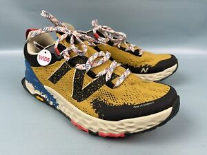New Balance Fresh Foam Hierro v5 Wide 2E Yellow Trail Running Shoes MTHIERY5