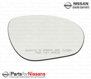 Nissan 2009-2013 Cube Juke RH Right Passenger Side Mirror Glass OEM NEW Genuine