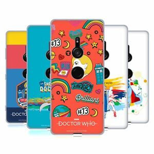 OFFICIAL DOCTOR WHO SEASON 11 GRAPHICS SOFT GEL CASE FOR SONY PHONES 1