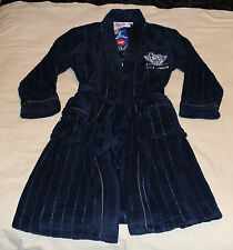 North Melbourne Kangaroos AFL Boys Embroidered Fleece Dressing Gown Size 16 New