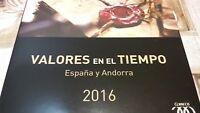 2016 ESPAÑA Y ANDORRA**LIBRO INCREÍBLE CORREOS PERFECTO OFERTA ÚNICA  ESPECIAL