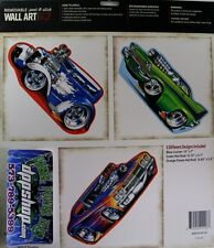 3 Removable peel stick Wall art Chevy chevelle hot rod rat sticker decal car kid