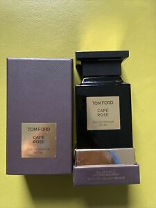 tom ford cafe rose 100ml 100% Full Not Sealed