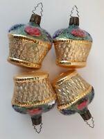 Glass Christmas Ornaments Czech Republic #22875 Vintage Flower Baskets