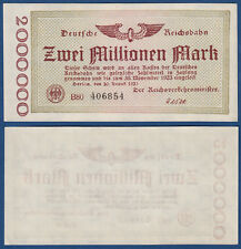 REICHSBAHN BERLIN 2 Millionen fast KSF MG 4b / P.S1012c
