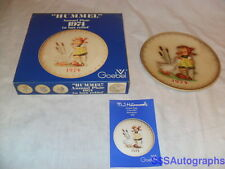 Vintage In Box 4th Edition 1974 Maria Mj Hummel Annual Plate Goose Girl #267 Vtg