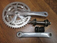 VINTAGE FIRST GENERATION SHIMANO XTR FC-M900 175 TRIPLE CRANK SET S-WORKS TI BB