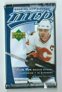 2005-06 UD Upper Deck MVP Hockey 1 Pack Retail  8 Cards per Pack
