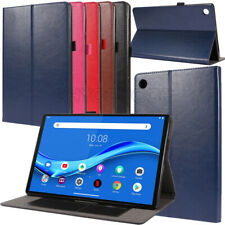 """Leather Flip Stand Tablet Case Cover For Lenovo Tab M10 Plus FHD 10.3"""" TB-X606F"""