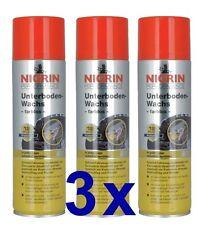 3 x Nigrin Unterbodenwachs Unterbodenschutz Unterboden Versiegelung 500 ml 74063