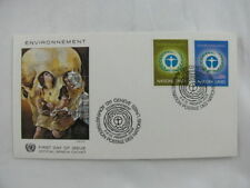 cover First day Issue environnement Switzerland Nations Unies Geneve 1972