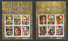 UN 2010 Indigenous People Sheets, NY, Geneva, & Vienna, MFNH