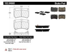 Disc Brake Pad Set-Rear Drum Front Centric 102.04660