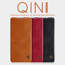 For Samsung Galaxy S20 FE Case Genuine Nillkin PU Leather Flip Slim Card Cover