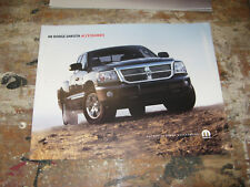2008 DODGE DAKOTA ACCESSORIES - Original Sales Brochure Book Catelog