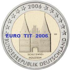 2  €   ALLEMAGNE    1   x   PIECE  NEUVE   HOLSTEIN   2006   /    ASSEZ  RARE