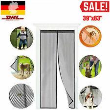 Fliegengitter Magnetisch Magnetvorhang Insektenschutz Tür Balkontür Schneidbar