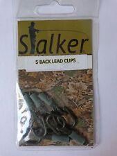 Stalker Carp fishing back lead clips pack of 5