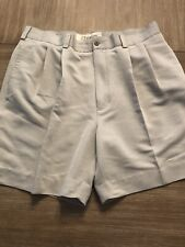 Mens CUBAVERA Beige Shorts 38 Pre Loved Golf Casual Khaki