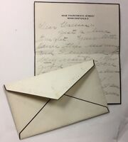 1917  WASHINGTON   D.C.  TO NEW YORK MOURNING COVER WITH LETTER