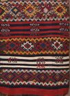 Antique Kilim Russian Oriental Traditional Area Rug Hand-Woven Wool 2x3 Carpet