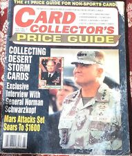 Card Collectors Price Guide Magazine July 1992 66 Pg