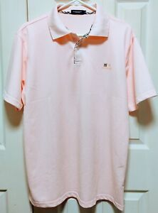MENS SZ XL BURBERRY MSRP $240 (BLACK LABEL FROM JAPAN) PINK NEW EXCL COND NWOT!