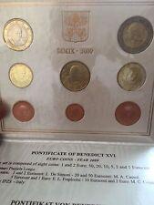 coffret euros Vatican BU 2009 Benoit XVI