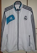 Real Madrid Adidas Football Soccer Jacket Jersey Size 42/44