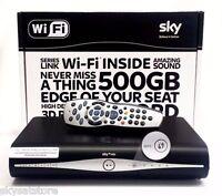 SKY PLUS +HD BOX AMSTRAD DRX890W 500GB NEW SLIMLINE BOX WIFI BUILT IN