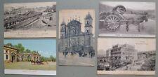 Lazio. FRASCATI, Roma. Cinque cartoline d'epoca (di cui quattro viaggiate).