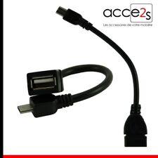 Câble OTG USB Host On The Go Pour HTC One M8S