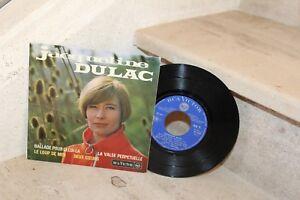 jacqueline dulac - ballade pour celui-la +t 3 titres (Ep 87023)