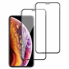 2× 10D Panzerfolie für iPhone X iPhone XS Displayschutzfolie Echt Hartglas 9H