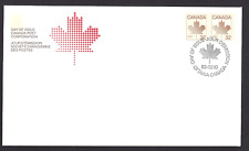Canada  FDC  # 951 Pair        MAPLE  LEAFS   1983     New Fresh Unaddressed